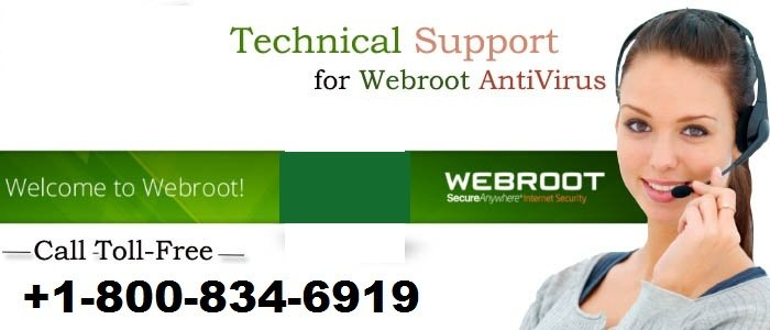 1-800-834-6919| Webroot Helpline Number Is A Requirement For The Internet User