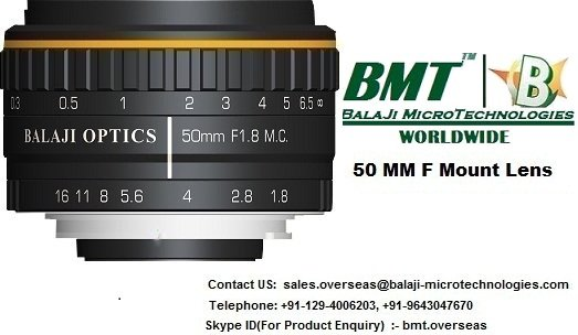 35 MM & 50 MM F MOUNT LENSES – LINE SCAN CAMERA INDIA