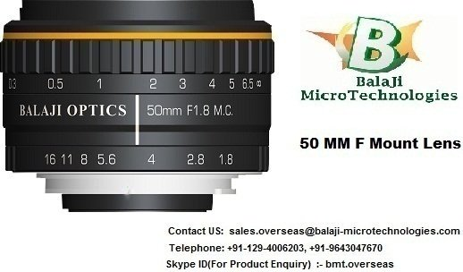 35 MM  & 50 MM F MOUNT MACHINE VISION LENS