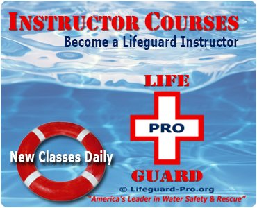 American Red Cross Lifeguard Instructor Certification Is Not Your Only Choice