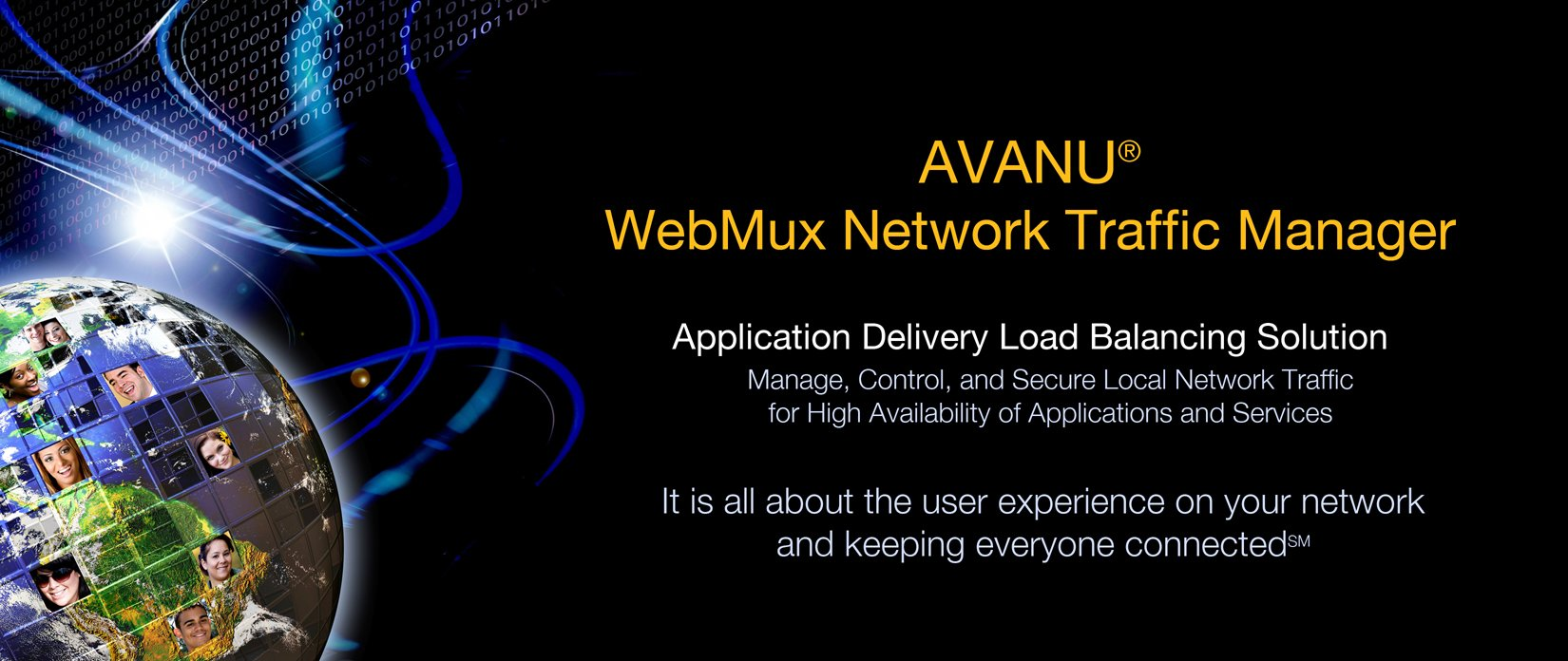 AVANU WebMux Application Delivery Load Balancing Solution