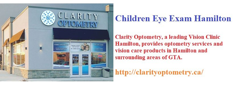 Children Eye Exam Hamilton