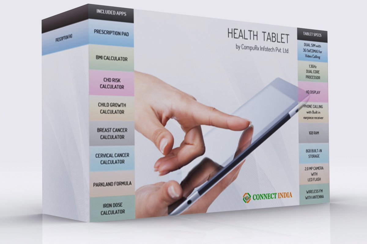 Health Tablet & HealthCare Software  For Doctors