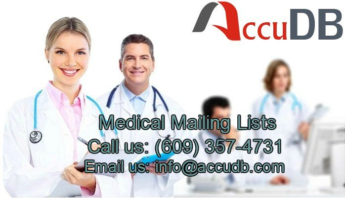 Medical Email List | Medical Mailing List | Medical Mailing Addresses | AccuDB