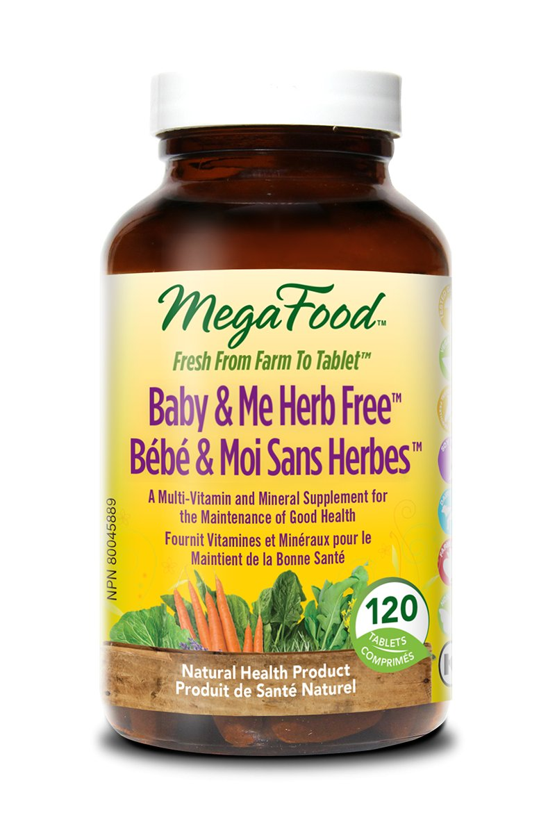 MegaFood Baby & Me: Expecting Mothers' Best Friend