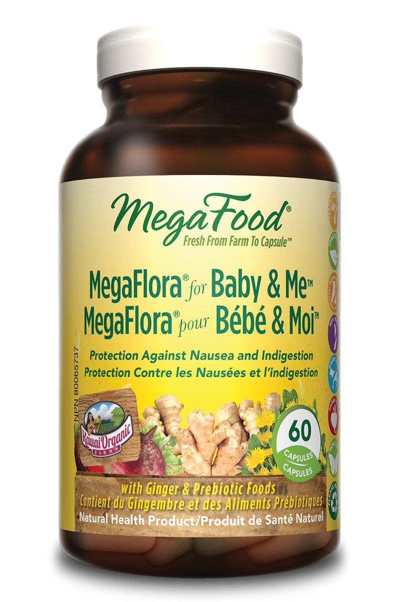 MegaFood MegaFlora For Baby & Me: Developing Baby's And Future Mom's Best Friend